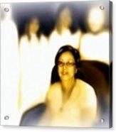 Medium And Spirit Guides Acrylic Print by Carmen Cordova