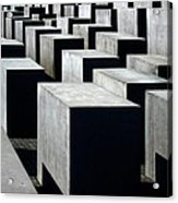 Memorial To The Murdered Jews Of Europe Acrylic Print by RicardMN Photography
