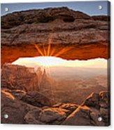 Mesa Arch Morning Acrylic Print by Andrew Soundarajan