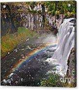 Mesa Falls Acrylic Print by Robert Bales