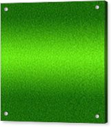 Metal Texture Green Background Acrylic Print by Somkiet Chanumporn