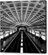 Metro Acrylic Print by Greg Fortier