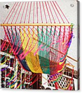 Mexican Souvenir Acrylic Print by Charline Xia