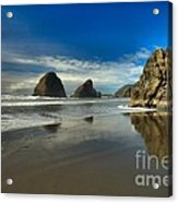 Meyers Creek Beach Acrylic Print by Adam Jewell