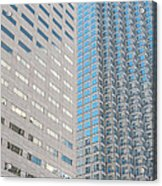 Miami Architecture Detail 2 Acrylic Print by Ian Monk