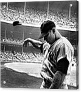Mickey Mantle Acrylic Print by Gianfranco Weiss