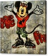 Mickey Of 11 Acrylic Print by Travis Hadley