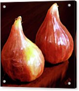 Midnight Figs Acrylic Print by Ben and Raisa Gertsberg