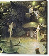 Midsummer's Night Dream Acrylic Print by Francis Danby