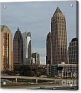 Midtown Atlanta Acrylic Print by Reid Callaway