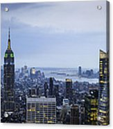 Midtown Manhattan Acrylic Print by Ray Warren