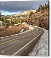 Mile One Acrylic Print by Sue Smith