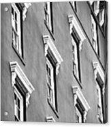 Mill House Windows Acrylic Print by John Rizzuto