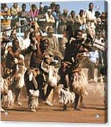 Mine Dancers South Africa Acrylic Print by Susan McCartney