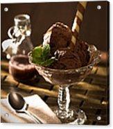 Mint Choc Chip Ice Cream Acrylic Print by Amanda And Christopher Elwell