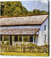Miss Becky's House Acrylic Print by Barry Jones