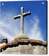 Mission Cross Acrylic Print by Shoal Hollingsworth