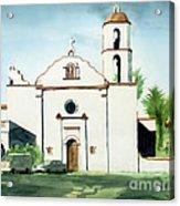 Mission San Luis Rey Colorful II Acrylic Print by Kip DeVore