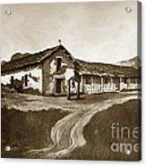 Mission San Rafael California  Circa 1880 Acrylic Print by California Views Mr Pat Hathaway Archives