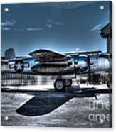 Mitchell B-25j Acrylic Print by Tommy Anderson