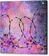 Mixed Messages Acrylic Print by Rachel Christine Nowicki
