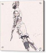 MJ Acrylic Print by John Sibley