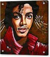 MJ Acrylic Print by RiA RiA