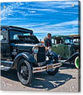 Model T Fords Acrylic Print by Steve Harrington