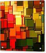 Modern Abstract I Acrylic Print by Lourry Legarde
