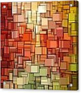 Modern Abstract Viii Acrylic Print by Lourry Legarde