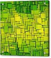 Modern Abstract Xxxiii Acrylic Print by Lourry Legarde
