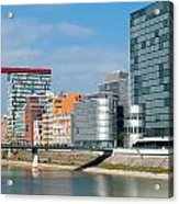 Modern Architecture Acrylic Print by Hans Engbers