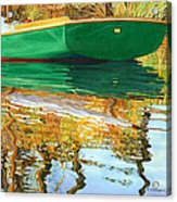 Moment Of Reflection Xi Acrylic Print by Marguerite Chadwick-Juner