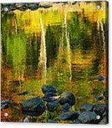 Monet Autumnal 02 Acrylic Print by Aimelle