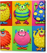 Monsters Acrylic Print by Amy Vangsgard