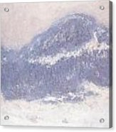 Mont Kolsaas Acrylic Print by Claude Monet