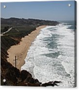 Montara State Beach Pacific Coast Highway California 5d22621 Acrylic Print by Wingsdomain Art and Photography