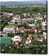 Montclair State University Acrylic Print by Rhett and Sherry  Erb