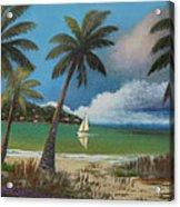 Montego Bay Acrylic Print by Gordon Beck
