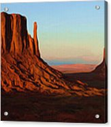 Monument Valley 2 Acrylic Print by Ayse Deniz