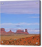 Monument Valley Acrylic Print by Viktor Savchenko