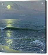 Moonrise Acrylic Print by Guillermo Gomez y Gil