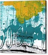 Morning Ride Acrylic Print by Linda Woods