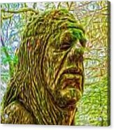 Moss Man - 02 Acrylic Print by Gregory Dyer