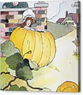 Mother Goose: Pumpkin Acrylic Print by Granger