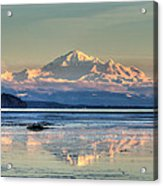Mount Baker North Cascades National Park Acrylic Print by Pierre Leclerc Photography