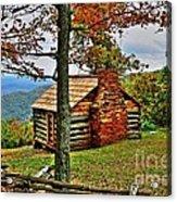 Mountain Cabin 1 Acrylic Print by Dan Stone