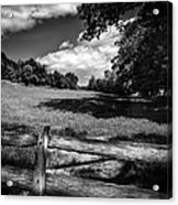 Mountain Field Acrylic Print by Bob Orsillo