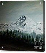 Mountain Range Acrylic Print by Erik Coryell