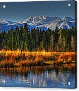 Mountain Vista Acrylic Print by Randy Hall